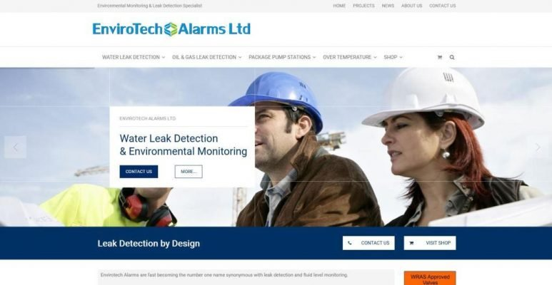 website for a uk manufacturing company